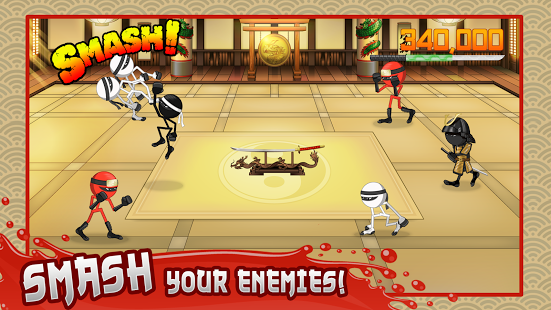 Stickninja Smash for PC windows and Mac