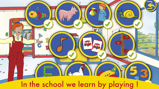A day with caillou for pc windows and mac