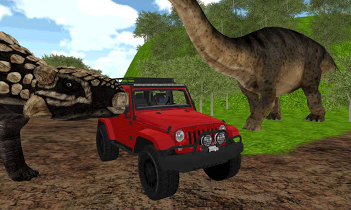 Dinosaur Jeep Driving Zone for pc windows and mac