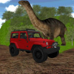 Dinosaur Jeep Driving Zone For Windows and Mac